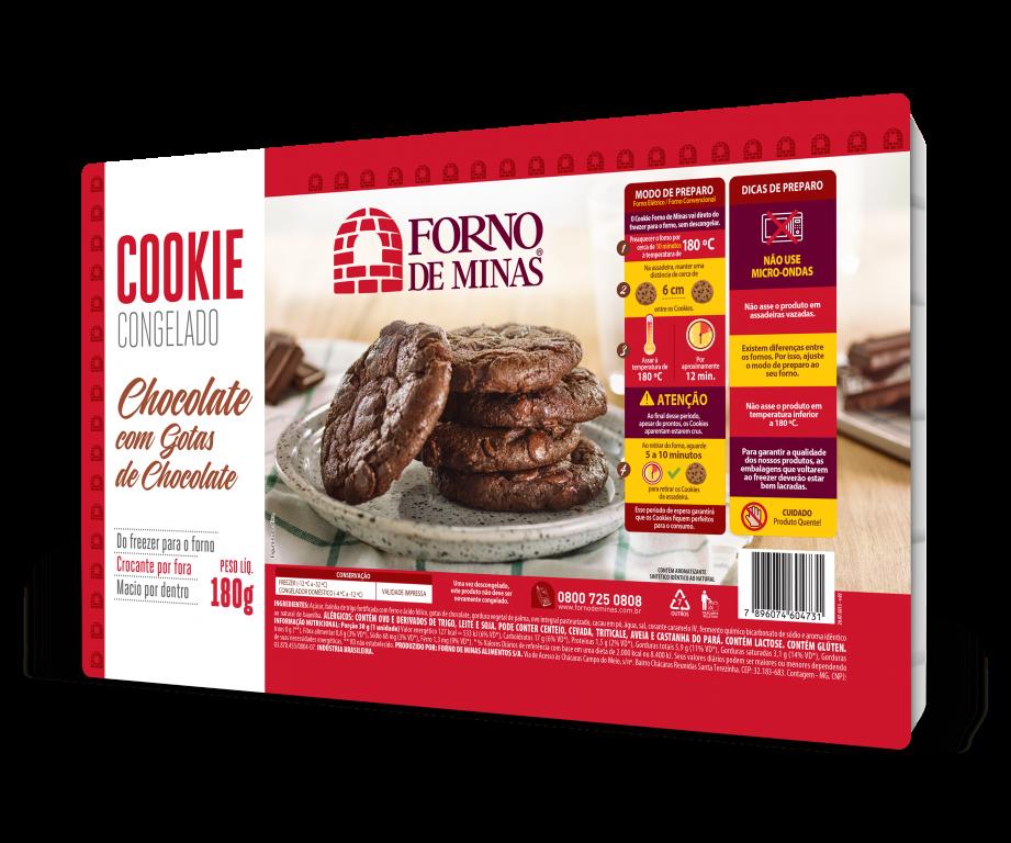 Cookie de Chocolate com Gotas de Chocolate – 30g