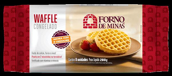 Waffle Forno de Minas Tradicional (15x6x35g)